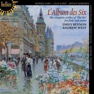 L'Album des Six: The complete works of 'The Six' for flute and piano | Hyperion - Helios CDH55386