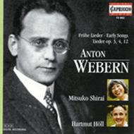 Webern - Early Songs, Lieder | Capriccio C10862