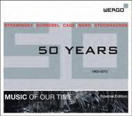 Wergo: 50 Years - Music of our Time Special Edition | Wergo WER69462