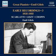 Emil Gilels: Early Recordings Vol.3