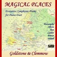 Magical Places: Evocative Symphonic Poems for Piano Duet | Divine Art DDA25104