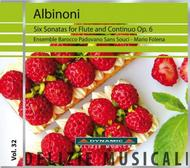 Albinoni - Six Sonatas for Flute and Continuo Op.6 | Dynamic DM8032