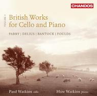 British Works for Cello and Piano Vol.1