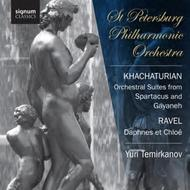 Khachaturian - Orchestral Suites from Spartacus & Gayaneh / Ravel - Daphnis et Chloe | Signum Classics SIGCD310