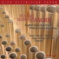 Roland Maria Stangier on the English Town Hall Organ, Philharmonie Duisburg