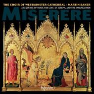 Miserere: A sequence of music for Lent, St Joseph and the Annunciation | Hyperion CDA67938