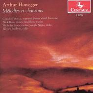 Honegger - Melodies et Chansons | Centaur Records CRC315152