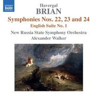 Havergal Brian - Symphonies Nos 22-24, English Suite No.1 | Naxos 8572833