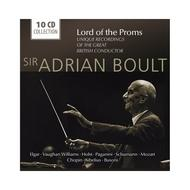 Sir Adrian Boult: Lord of the Proms (Unique Recordings of the Great British Conductor)