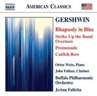 Gershwin - Rhapsody in Blue, Strike Up the Band Overture, Promenade, Catfish Row (CD)
