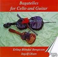 Bagatelles for Cello and Guitar | Danacord DACOCD335