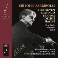 Barbirolli conducts Beethoven, Milhaud, Brahms, Delius & Haydn