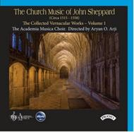 The Church Music of John Sheppard: Collected Vernacular Works Vol.1 | Priory PRCD1081