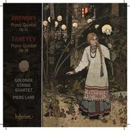 Taneyev / Arensky - Piano Quintets