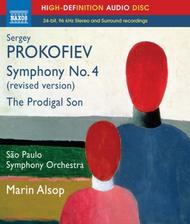 Prokofiev - Symphony No.4, The Prodigal Son (Blu-ray Audio)