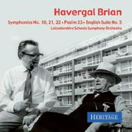 Havergal Brian - The First Commercial Recordings | Heritage HTGCD2567