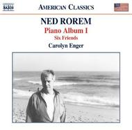 Rorem - Piano Album I, Six Friends | Naxos - American Classics 8559761