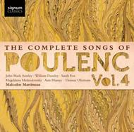 Poulenc - Complete Songs Vol.4 | Signum Classics SIGCD323
