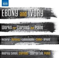 Ebony and Ivory: Works for Clarinet and Piano | Naxos 8573022