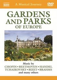 A Musical Journey: Gardens and Parks of Europe | Naxos - DVD Travelogue 2110301