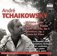 Andre Tchaikovsky Vol.1: Music for Piano | Toccata Classics TOCC0204
