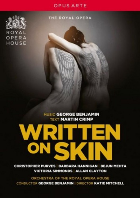 George Benjamin - Written on Skin (DVD) | Opus Arte OA1125D
