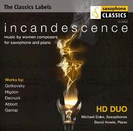 Incandescence: Saxophone music by women composers | Saxophone Classics CC4002