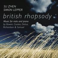 British Rhapsody: Music for Viola and Piano | Stone Records 5060192780352