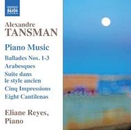 Tansman - Piano Music | Naxos 8573021
