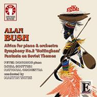 Alan Bush - Africa Piano Concerto, Symphony No.2 | Dutton - Epoch CDLX7306