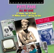 Patti Page: All My Love (her 29 finest, 1947-58) | Retrospective RTR4235