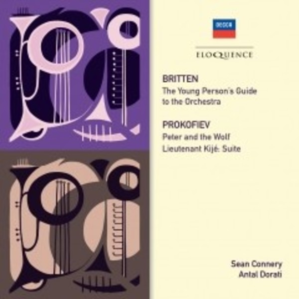 Britten - Young Person's Guide; Prokofiev - Peter and the Wolf | Australian Eloquence ELQ4808475