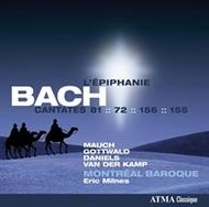 J S Bach - The Sacred Cantatas Vol.5: The Epiphany | Atma Classique ACD22404