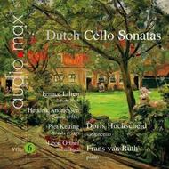 Dutch Cello Sonatas Vol.6 | Audiomax AUD9031823