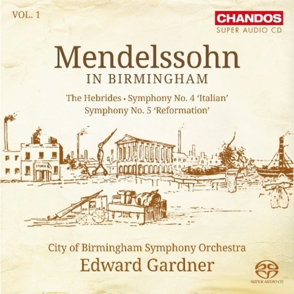 Mendelssohn in Birmingham Vol.1 | Chandos CHSA5132