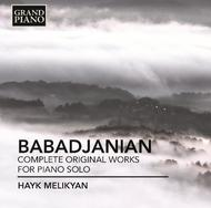 Babajanian - Complete Original Works for Piano Solo | Grand Piano GP674