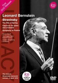 Bernstein conducts Stravinsky | ICA Classics ICAD5124