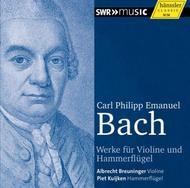 CPE Bach - Works for Violin and Pianoforte | Haenssler 93312