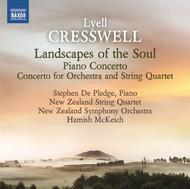 Lyell Cresswell - Landscapes of the Soul, Concertos | Naxos 8573199