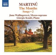 Martinu - The Months: Songs Vol.2 | Naxos 8572310