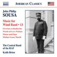 Sousa - Music for Wind Band Vol.13 | Naxos - American Classics 8559729