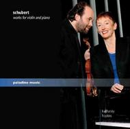 Schubert - Works for Violin and Piano | Paladino PMR0045