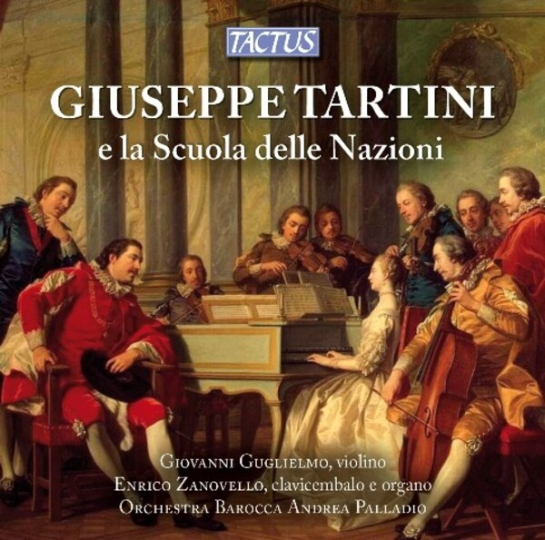 Giuseppe Tartini and the School of Nations | Tactus TC692005