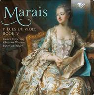 Marais - Pieces de Viole Book V | Brilliant Classics 94646