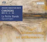 J S Bach - Cantatas BWV70, 9 & 182 | Accent ACC25318