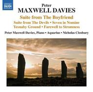 Maxwell Davies - Suites, Seven In Nomine, Farewell to Stromness, etc | Naxos 8572408