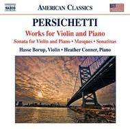Persichetti - Works for Violin and Piano | Naxos 8559725