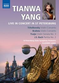 Tianwa Yang: Live in Concert in St Petersburg | Naxos - DVD 2110283