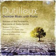 Dutilleux - Chamber Music with Piano | Brilliant Classics 94738