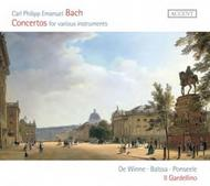 CPE Bach - Concertos for various instruments | Accent ACC24285